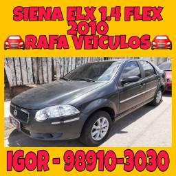 FIAT SIENA ELX 1.4 FLEX 2010, FALAR COM IGOR NA RAFA VEICULOS erfd
