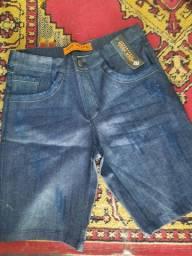 Bermudas e calças aparti de 20 reais