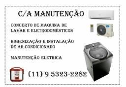 C/A manutenção   de ar condicionado  / Eletricidade