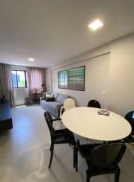 Apartamento na Jatiuca, quarto e sala ao lado do corredor vera arruda
