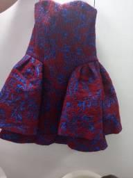 Vestido curto Armani