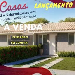Título do anúncio: LANÇAMENTO casa em condomínio 221 mil voce ganha uma tv