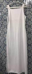 Vestido Branco corpão- Novo