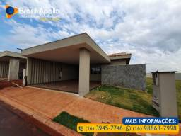 Lançamento! Casas 3 dorm. em Condomínio Fechado na região do Cristo em Sertãozinho