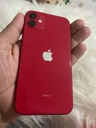 iPhone 11 red 64GB garantia Apple 05/01/22