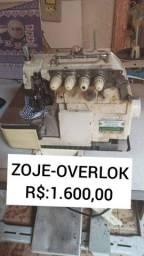 Maquina de costura Overlok-Zoje