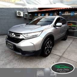 Honda CR-V Touring>>Única no RJ+Prata+8.992km+2019+Automático+Gasolina+Completo