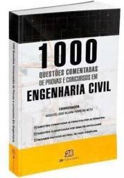 Livro 1000 questões comentadas de Engenharia Civil