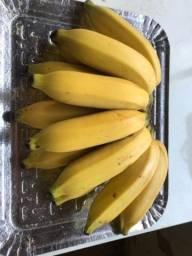 Banana  e mandioca