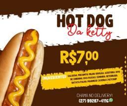 Título do anúncio: Hot Dog 7 reais