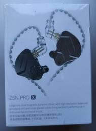 Fone de ouvido Kz zsn pro x (preto)