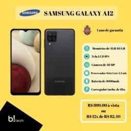 Título do anúncio: Samsung A12 - Lacrado e NF
