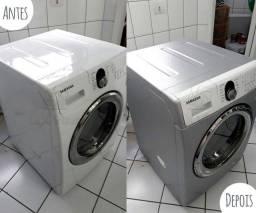 Deixe sua Máquina de Lavar Novinha