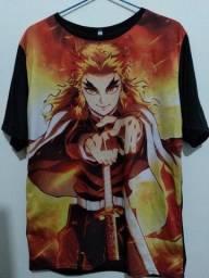 Camisa kimetsu no yaba