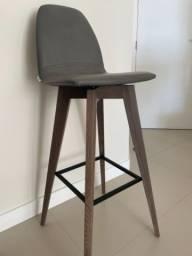 Cadeiras bar couro sintético