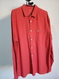 Camisa manga longa Lacoste