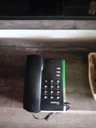 Telefone com fio Intelbras.
