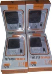 Carregadores Celulares Ios / V8 / Tipo-c
