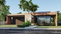 Casa de alto padrão em construção com 4 suítes sendo 1 máster - Condomínio Laguna