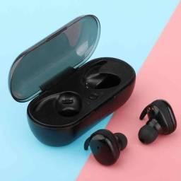 Mini Fone Y30 TWS Bluetooth Sem Fio / Smart Touch / 5.0 Binaural / Super Bass Stereo.