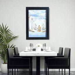 Quadro com Moldura e Vidro: Jesus