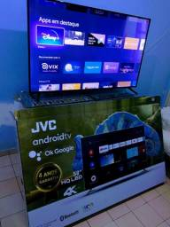 "Smartv Wi-Fi _ JVC - 4K HQLED 58"" Sem Uso, (4 anos garantia) R$2.600,00"