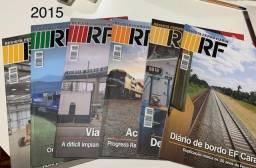 Revista Ferroviaria RF Ano 76 (2015) - Lote completo