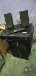 Home LG 800wts 6 caixas,com controle remoto.