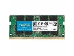 Memória Ram DDR4 8gb Crucial 2666MHz Notebook Nova  3x S/J no Cartão