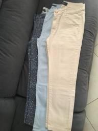 Calças jeans número 44 Cos alto