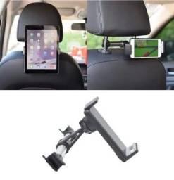 Suporte tablet celular encosto banco carro