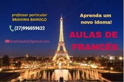 Título do anúncio: Aulas de francês presenciais/online!