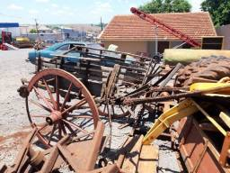Carroça antiga roda dura