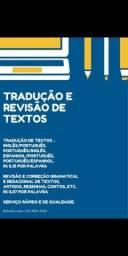 Tradução e Revisão de textos