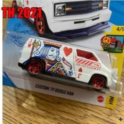 Hot Wheels - Custom 77 Dodge Van TH  - T-Hunt - GTC88