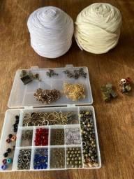 Fio de malha - acessórios para confecção de bolsas, chaveiros e tassel