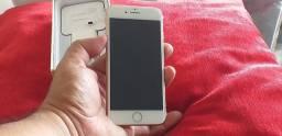 Iphone 8 gold 64 gigas de vitrine em ate 12x