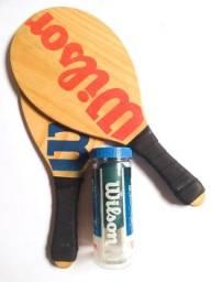 Kit Raquetes de frescobol Wilson