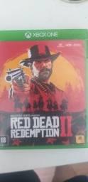 Título do anúncio: red dead redemption 2 midia fisica xbox one
