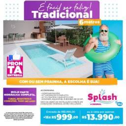 Piscina Splash 6 Metros em Promoção