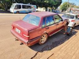 Peças de Volvo 460 2.0 1995 Motor Interior Portas Acabamento Friso Vidro