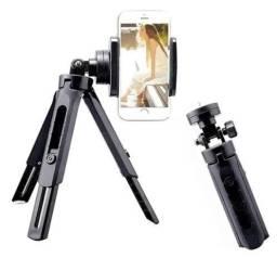 Título do anúncio: Mini Tripé Articulado Celular Camera Vídeos Live Youtubers