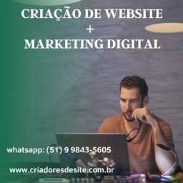 Site + Marketing Digital via Google