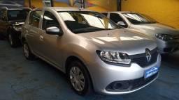 Título do anúncio: Renault Sandero Authentique 1.0 Prata