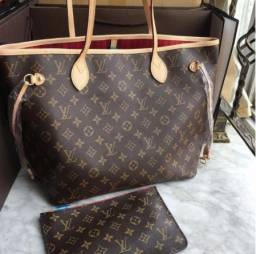Bolsa Lv Louis Vuitton Neverfull 100% Nova