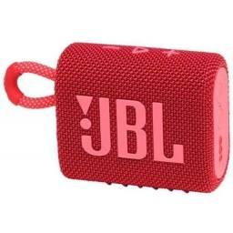Jbl Go 3 Vermelha/ Cinza