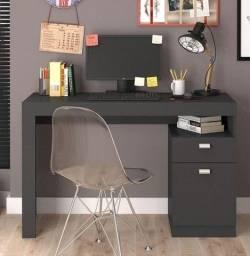 Título do anúncio: Promoção - Escrivaninha Mesa Computador Chumbo - Apenas R$269,00