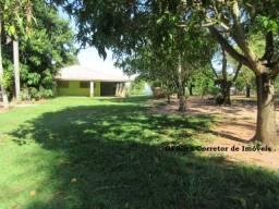Chácara 10.240 m2 poço artesiano árvores frutíferas Casa 3 dorm. Ref. 409 Silva Corretor