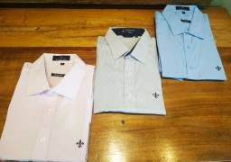 Kit (3) Camisas sociais (Premium)