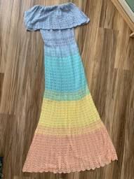 Vestido Rosa Bardô